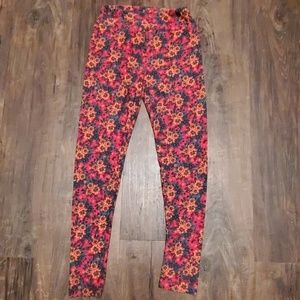Lularoe Floral Leggings